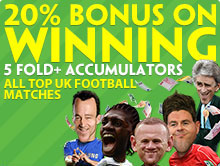 Paddy Power Acca Bonus