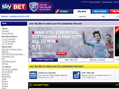 Sky Bet Review - Bet £5 Get £20 In Free Bets