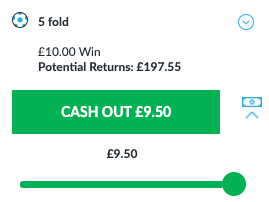 Cash Out Example
